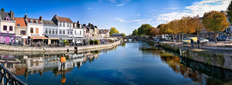 Centre ville d'Amiens